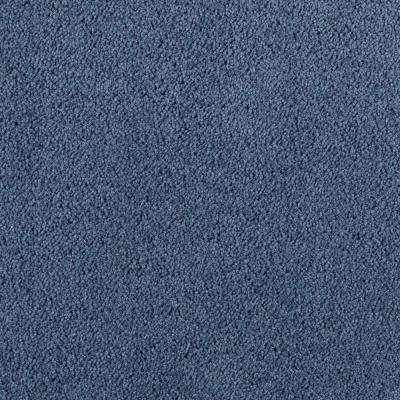Wesleyan II - Color Cadet Blue 12 ft. Carpet