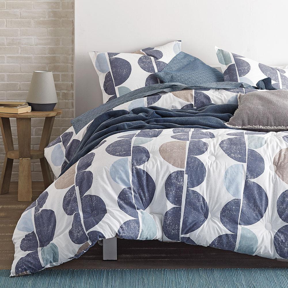 Eclipse Cotton Percale Comforter Set