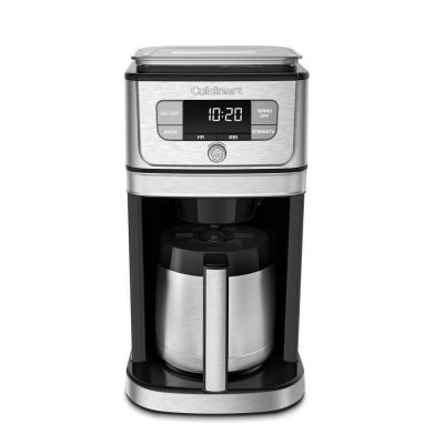Burr Grind and Brew 10-Cup Stainless Steel Drip Coffee Maker