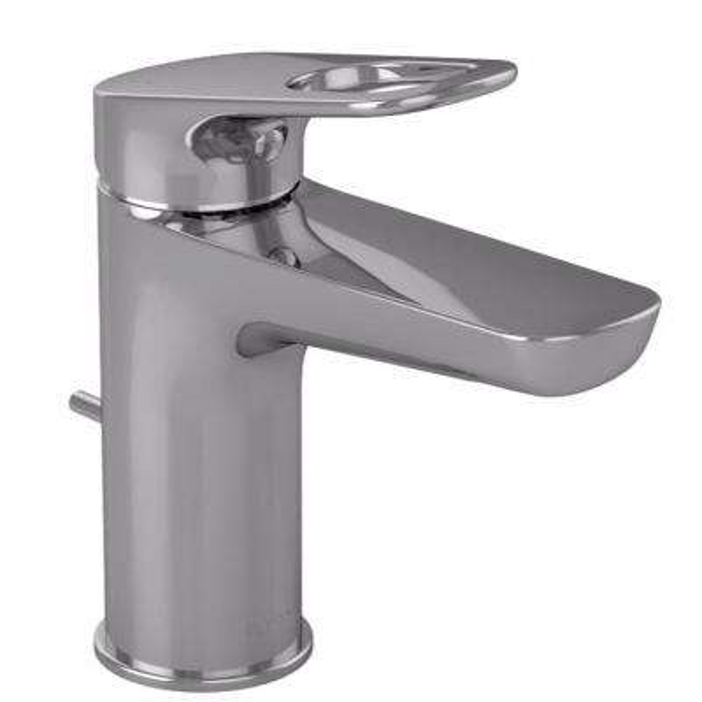 Oberon-R Single Hole Single-Handle Bathroom Faucet in Polished Chrome