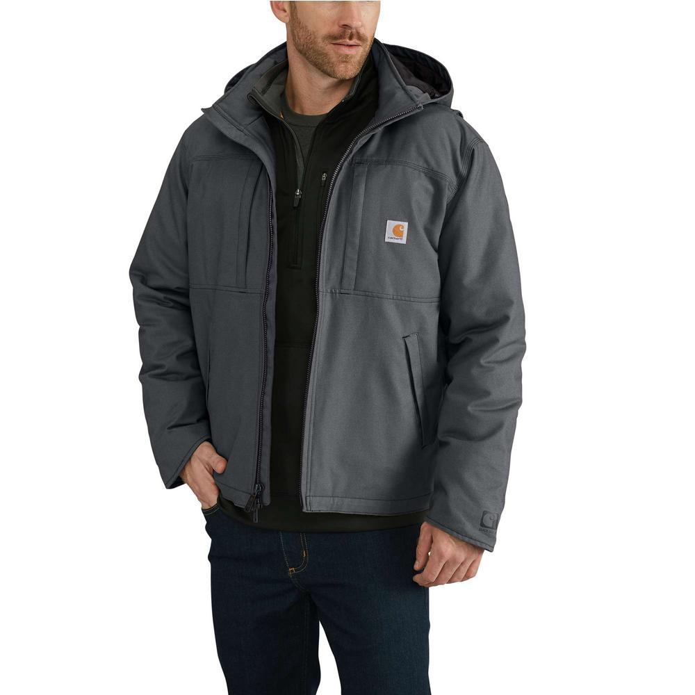 acc5831af07 Carhartt Men's Regular X Large Shadow Cotton/Polyester Full Swing Cryder  Jacket