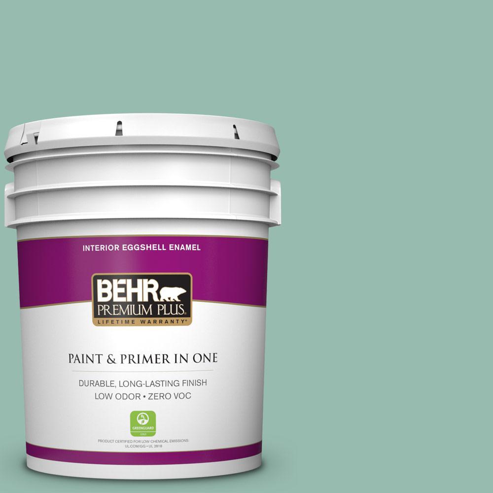 BEHR Premium Plus 5-gal. #M430-4 Sunstone Eggshell Enamel Interior Paint