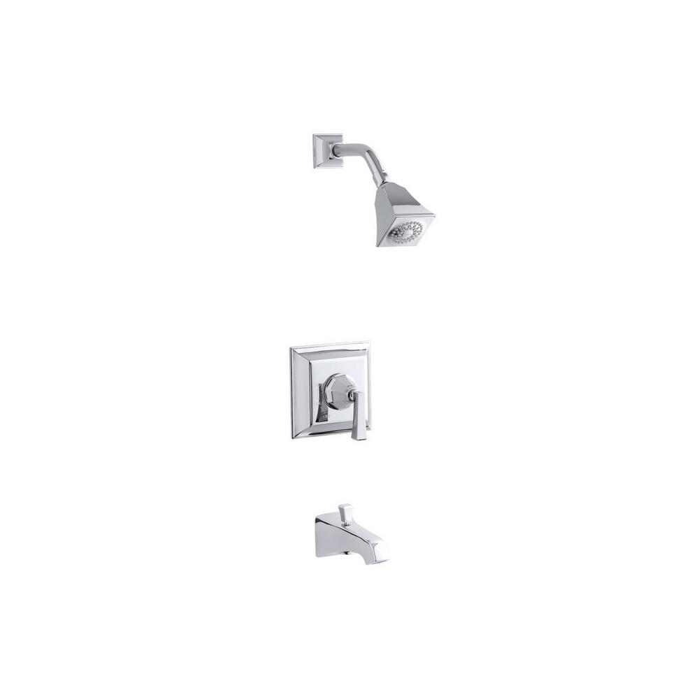 Kohler Memoirs Stately 1 Handle Tub And Shower Faucet Trim Kit In Polished Chrome