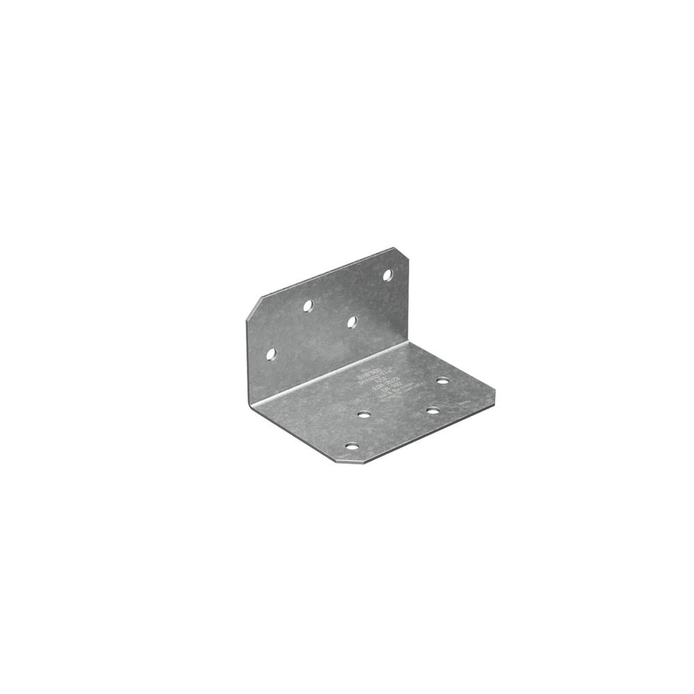 18-Gauge Galvanized Steel Angle