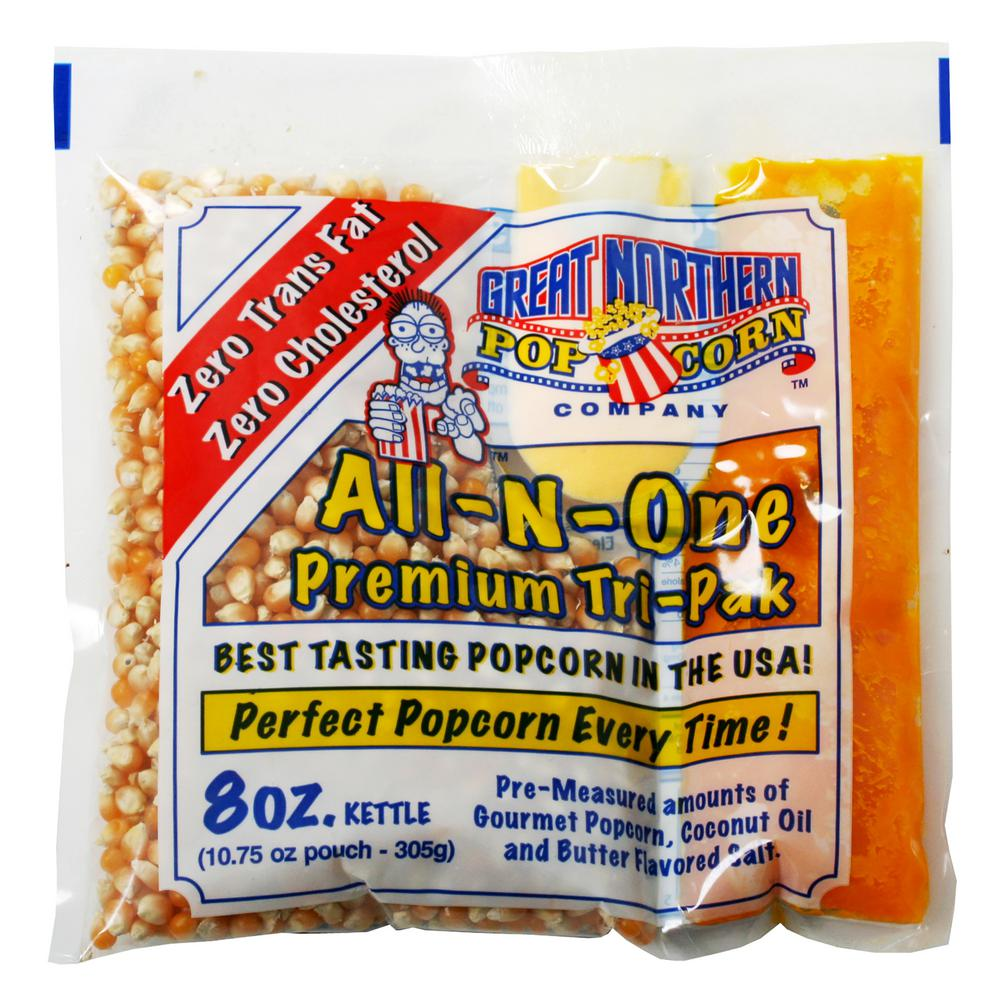 Great Northern 8 oz. All-in-One Premium Popcorn (40-Pack)