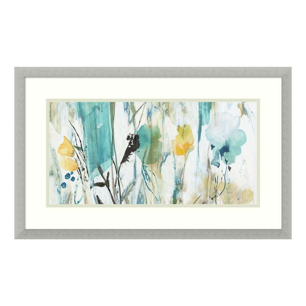 Black Gold And Turquoise Modern Art