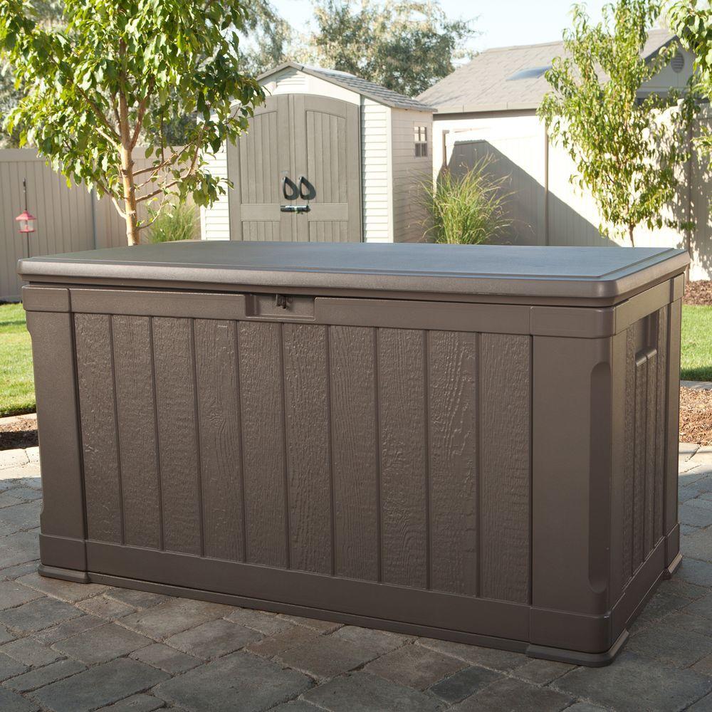 116 Gal Polyethylene Outdoor Deck Box