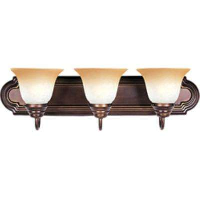 Essentials 3-Light Oil Rubbed Bronze Bath Vanity Light