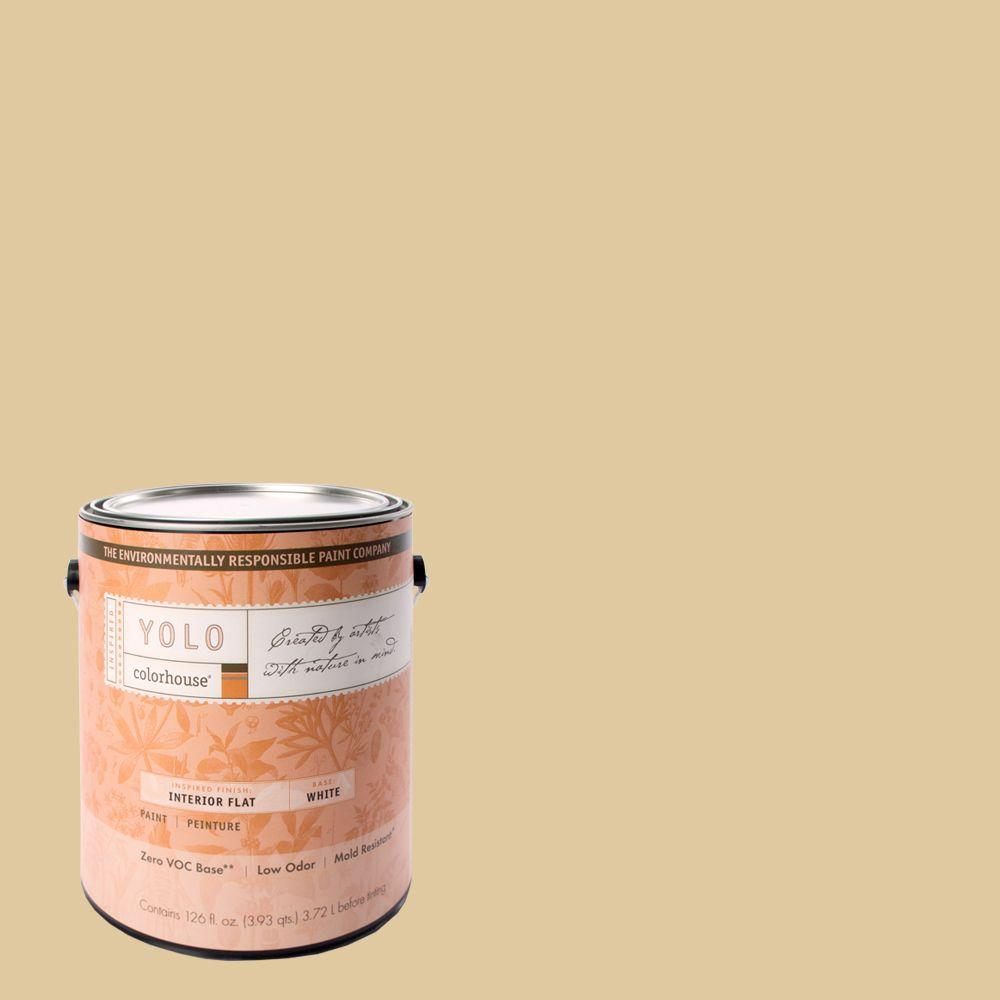 YOLO Colorhouse 1-gal. Grain .04 Flat Interior Paint-DISCONTINUED