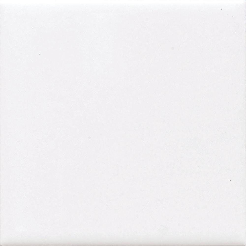 Daltile Finesse Bright White 4 In X Ceramic Wall Tile 12 50