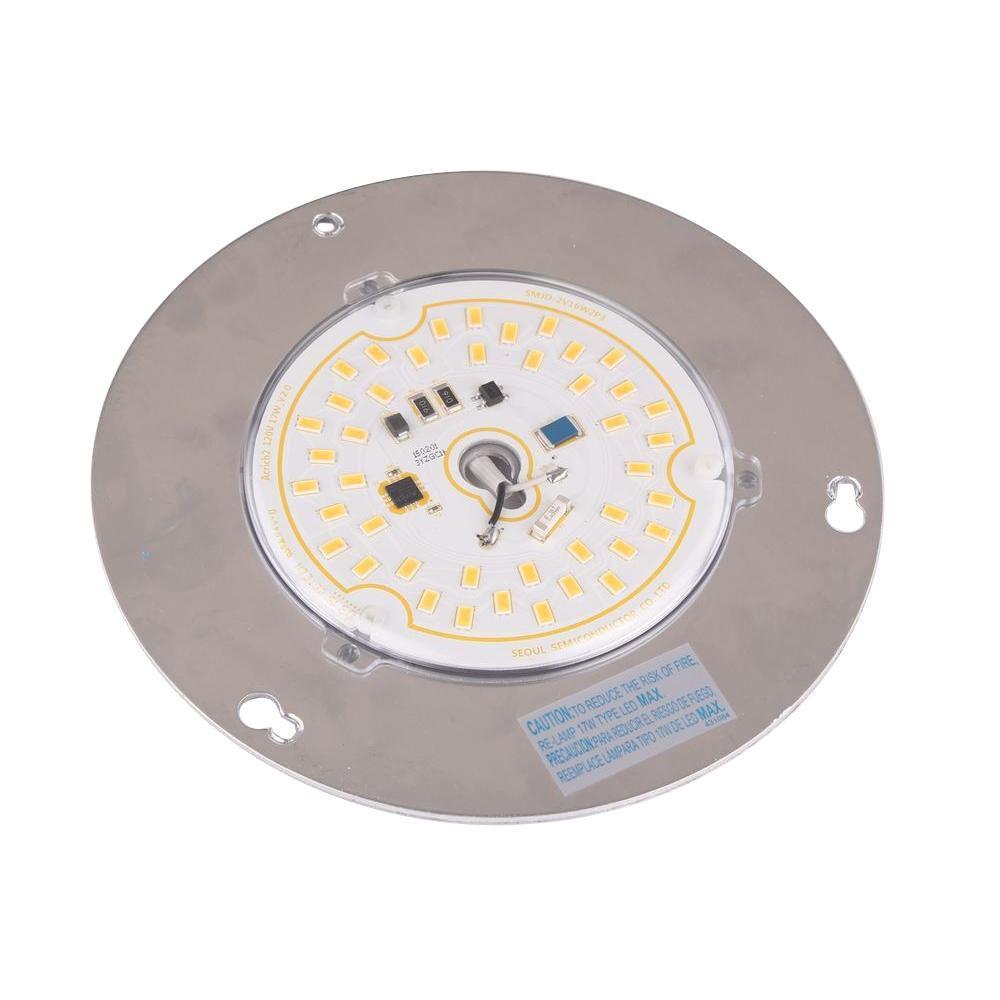 Led ceiling fan light bulbs ceiling tiles 17 watt led embly 13431102702300 the home depot aloadofball Images
