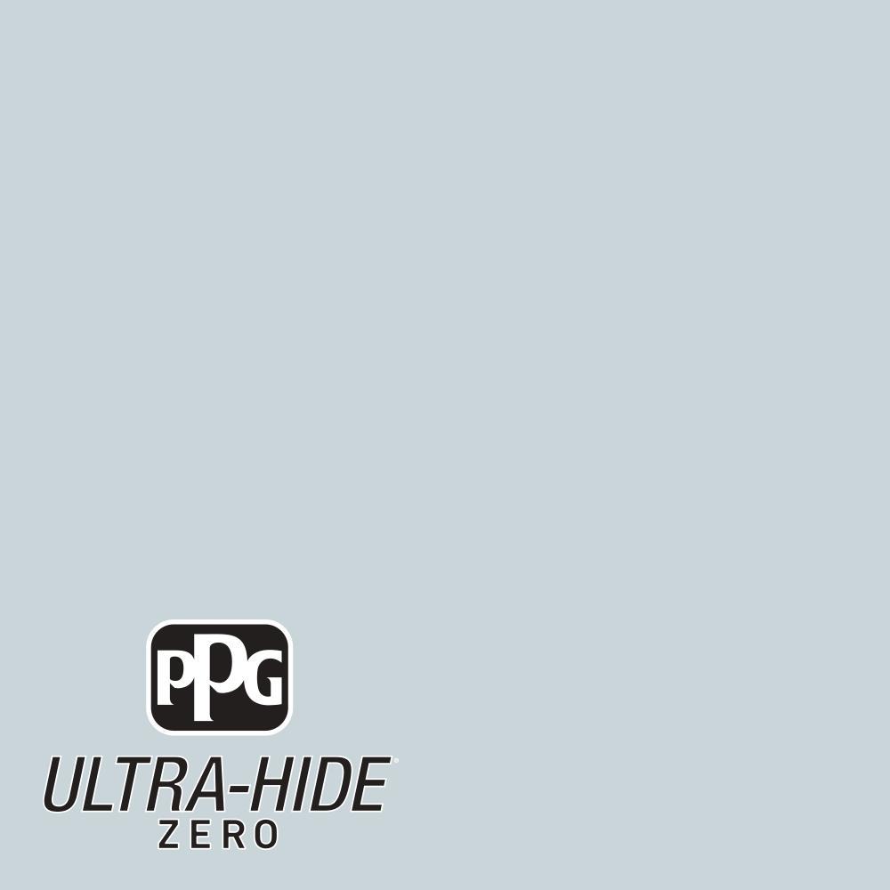 PPG 1 gal. #HDPCN28U Ultra-Hide Zero Simply Blue Eggshell Interior Paint