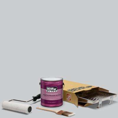 1 gal. #PPU26-16 Hush Ultra Eggshell Enamel Interior Paint and 5-Piece Wooster Set All-in-One Project Kit