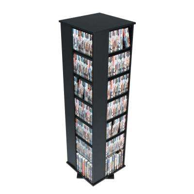 Black Media Storage  sc 1 st  The Home Depot & CD u0026 DVD Cabinets - Media Storage - Living Room Furniture - The Home ...