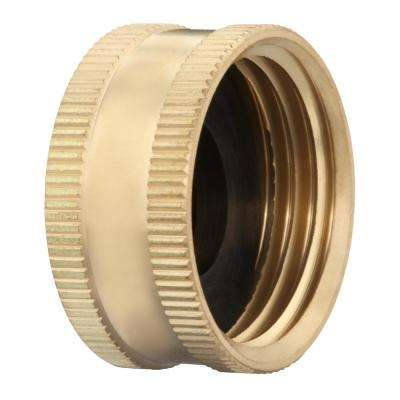 3/4 in. FH Lead-Free Brass Garden Hose Cap