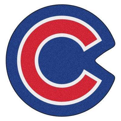 MLB - Chicago Cubs 30 in. x 30.7 in. Indoor Area Rug Mascot Mat
