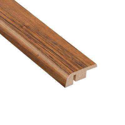 Vancouver Walnut 1/2 in. Thick x 1-1/4 in. Wide x 94 in. Length Laminate Carpet Reducer Molding