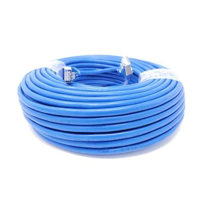 Outdoor Cat 7 Ethernet Cable DanYee Heavy-Duty Cat7 Networking Cord Patch Cable RJ45 10 Gigabit 600MHz LAN Wire Cable STP Waterproof Direct Burial Ethernet 50FT