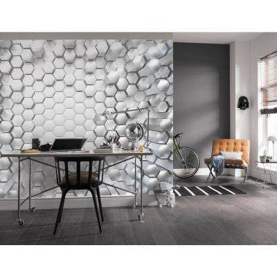 Titanium Symbols and Shapes Wall Mural