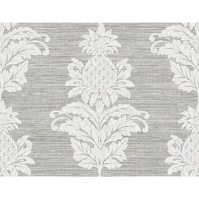 Pineapple Grove Gold Damask Wallpaper