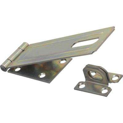6 in. Zinc Plated Safety Hasp