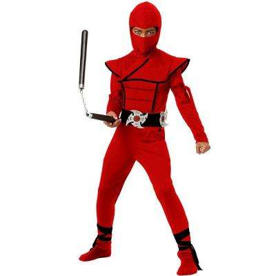 Boys Stealth Ninja Red Costume