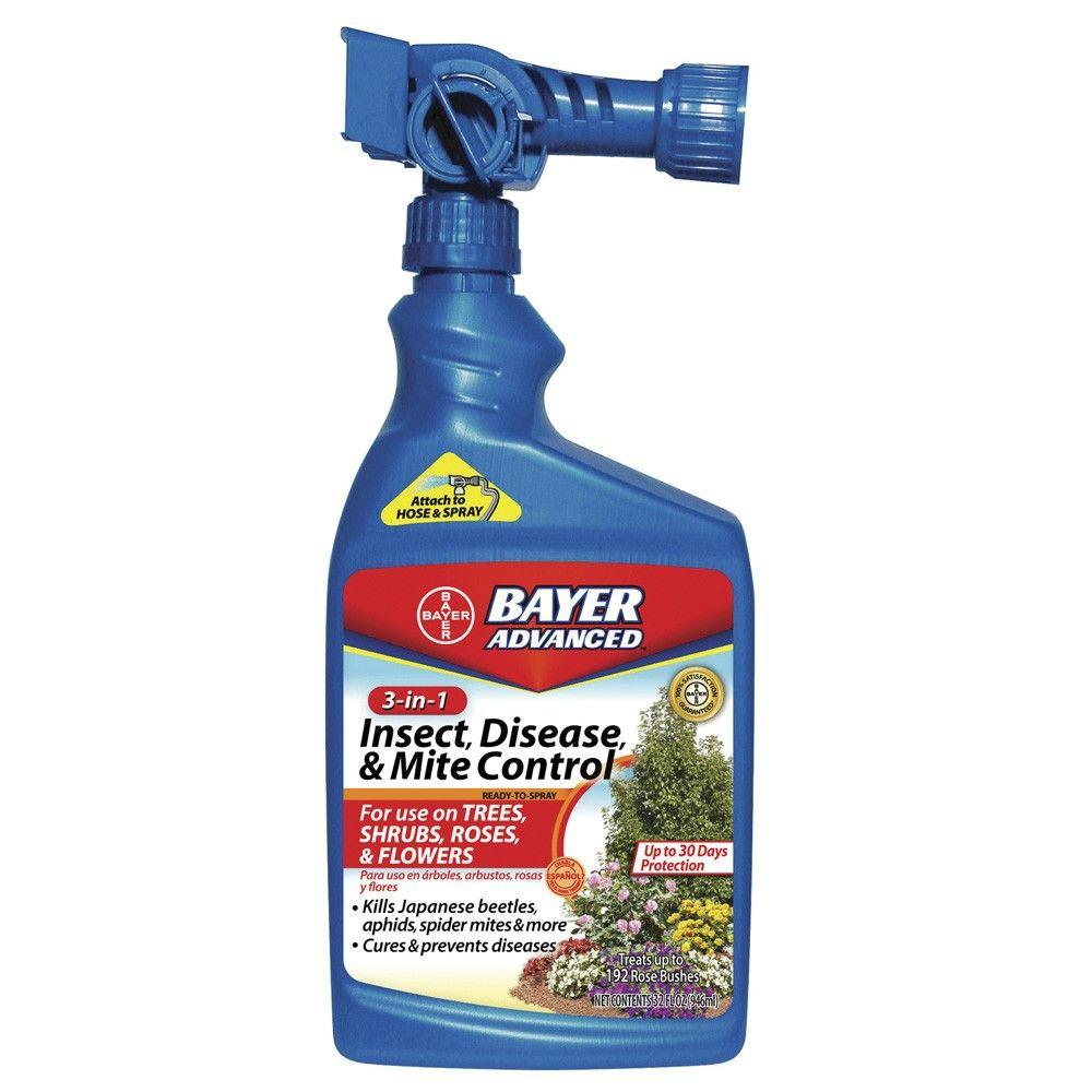 32 oz. Ready-to-Spray 3-in-1 Insect Disease and Mite Control