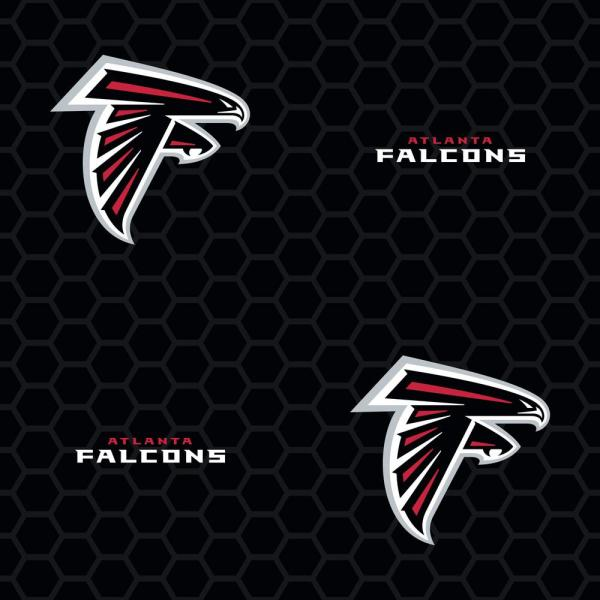 Fathead Atlanta Falcons Black Logo