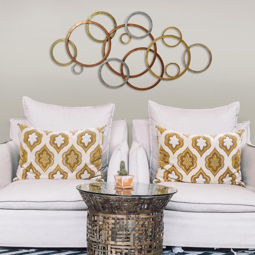 lovely metal vine over the door wall decor s07704 the home depot. Black Bedroom Furniture Sets. Home Design Ideas