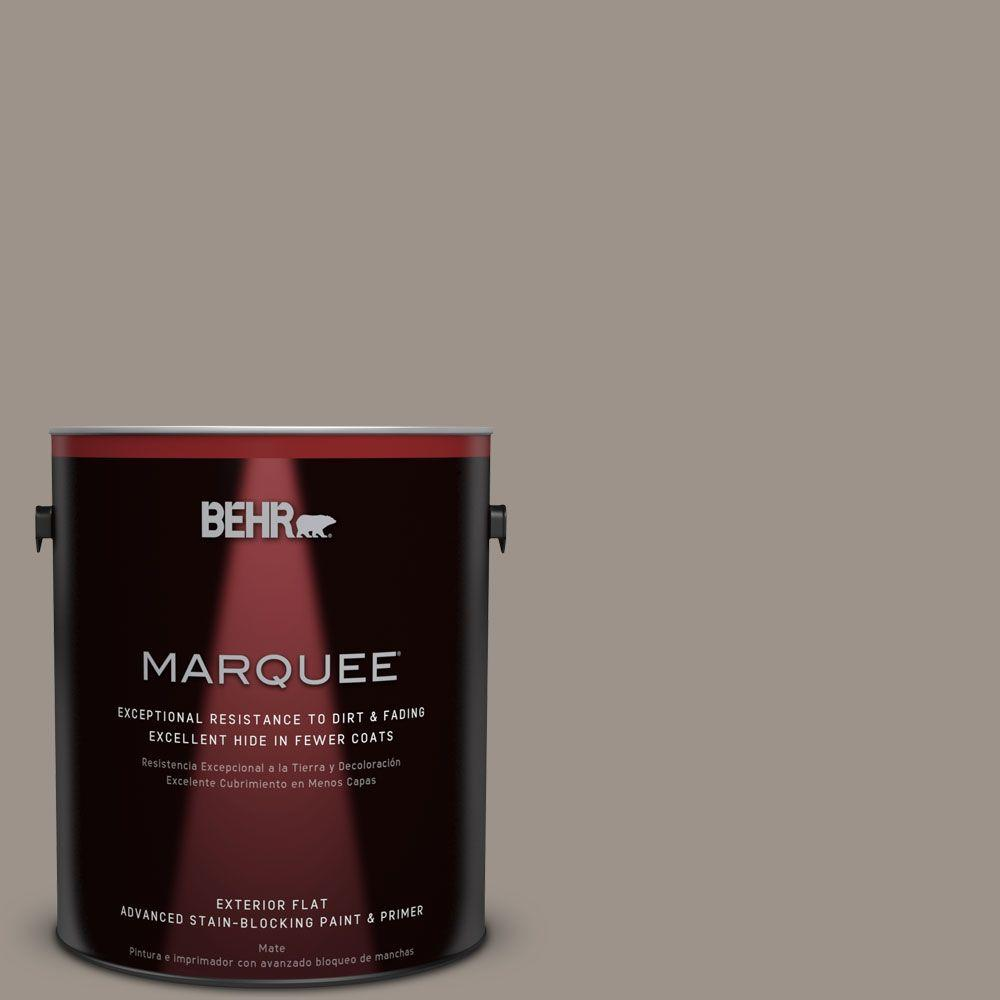 BEHR MARQUEE 1-gal. #PPF-31 Pebbled Path Flat Exterior Paint