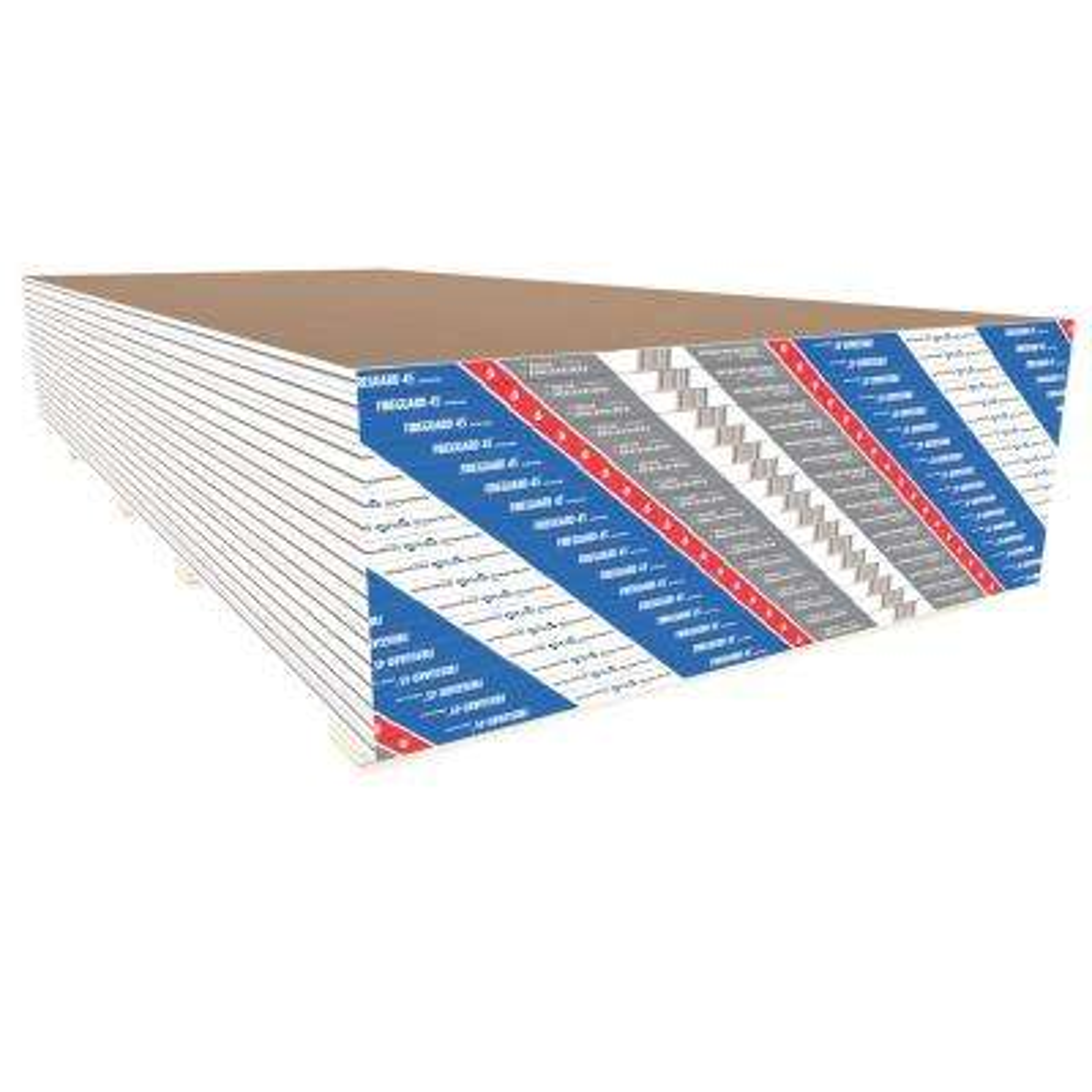 Fireguard 45 TE 1/2 in. x 4 ft. x 8 ft. Gypsum Board