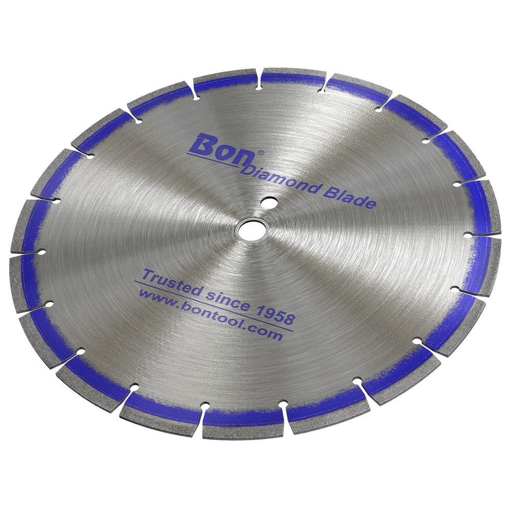 Bon Tool 12 in. x 0.11 in. Type 1 Laser Welded Diamond Blade