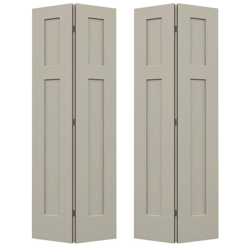 Jeld Wen 36 In X 80 Craftsman Desert Sand Painted Smooth Molded