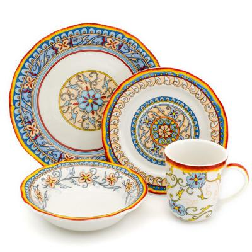 Duomo 32-Piece Stoneware Dinnerware Set (Service for 8)