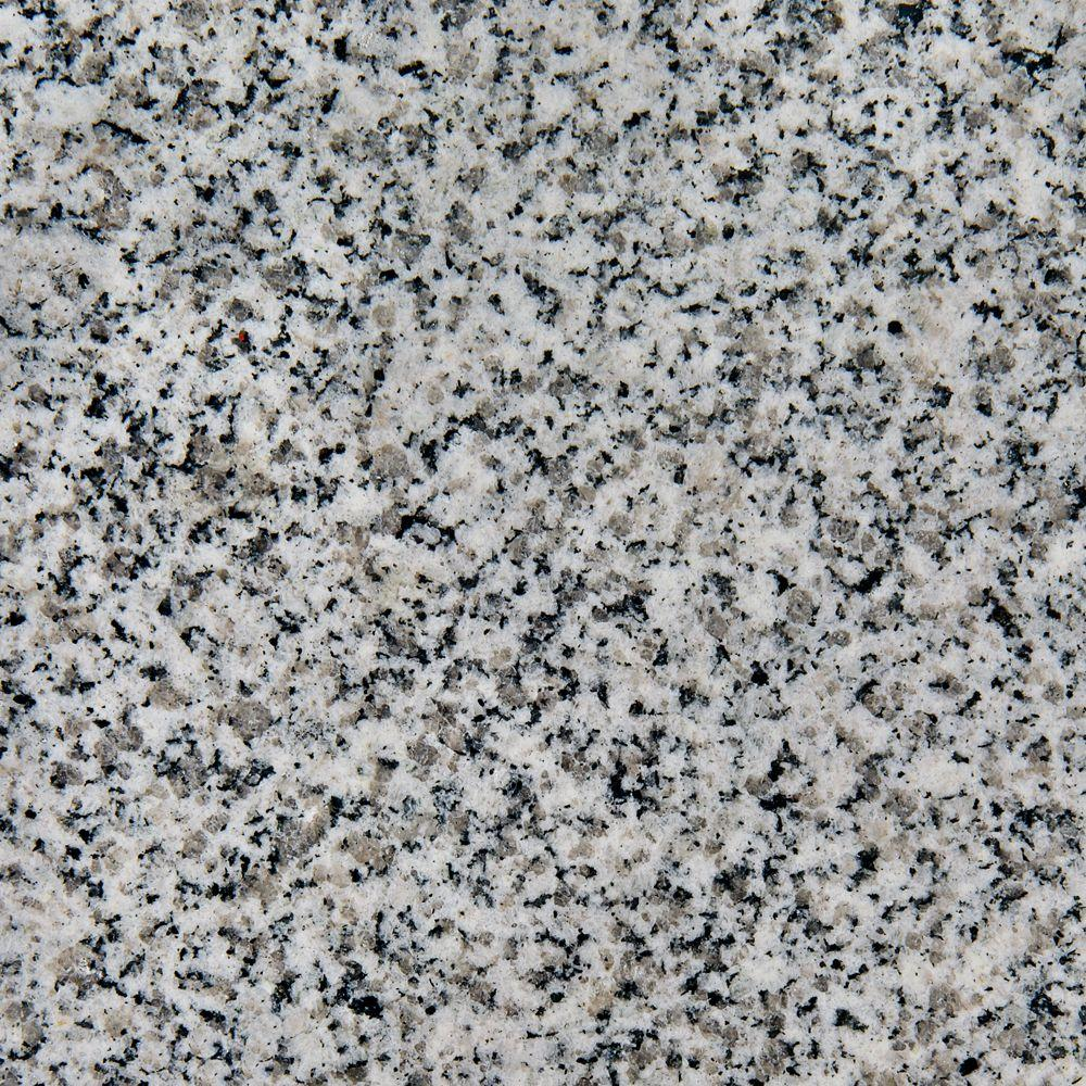 Foremost Gazette 4 in. x 4 in. Granite Top Sample in Rushmore Grey-DISCONTINUED