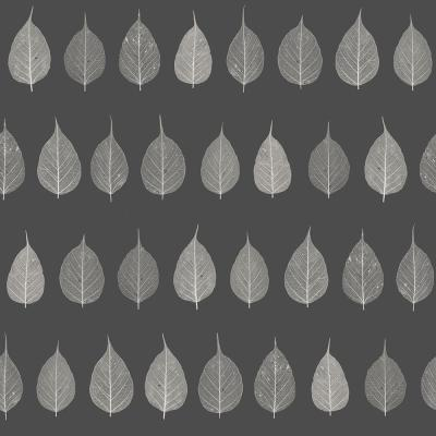 Greenhouse Charcoal Leaves Charcoal Wallpaper Sample