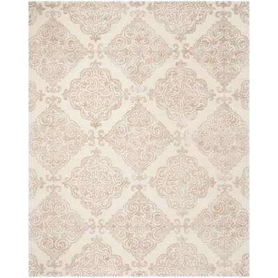 Glamour Ivory/Beige 8 ft. x 10 ft. Area Rug