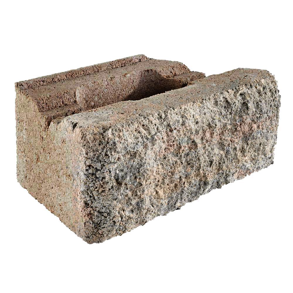 Pavestone Rockwall Small 4 In X 11 75 6 Palomino Concrete