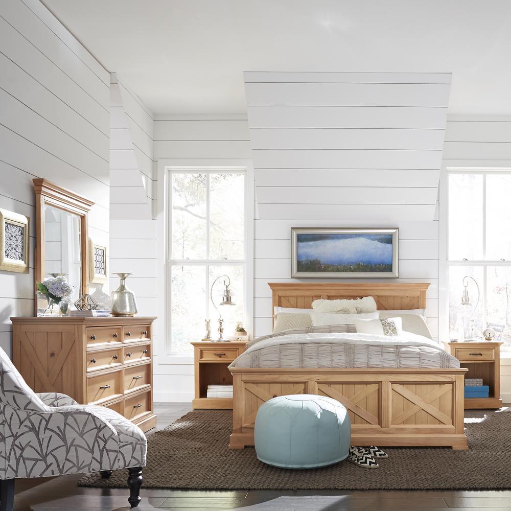 Country Lodge 8-Drawer Pine Dresser