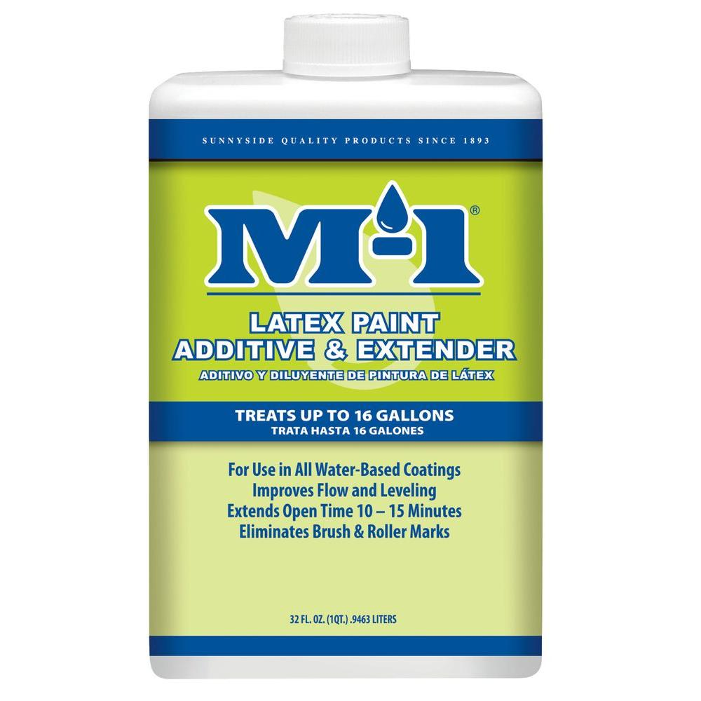 M 1 1 Qt Latex Paint Additive And Extender 70332m The Home Depot