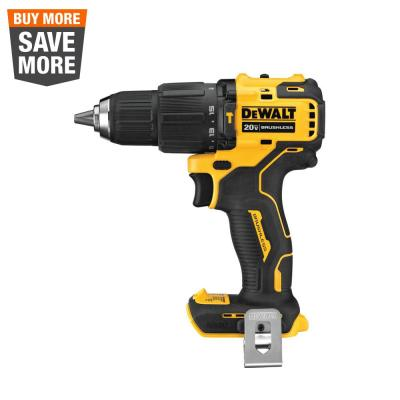 DEWALT ATOMIC 20-Volt MAX Cordless Brushless Compact 1/2-inch Hammer Drill (Tool-Only)