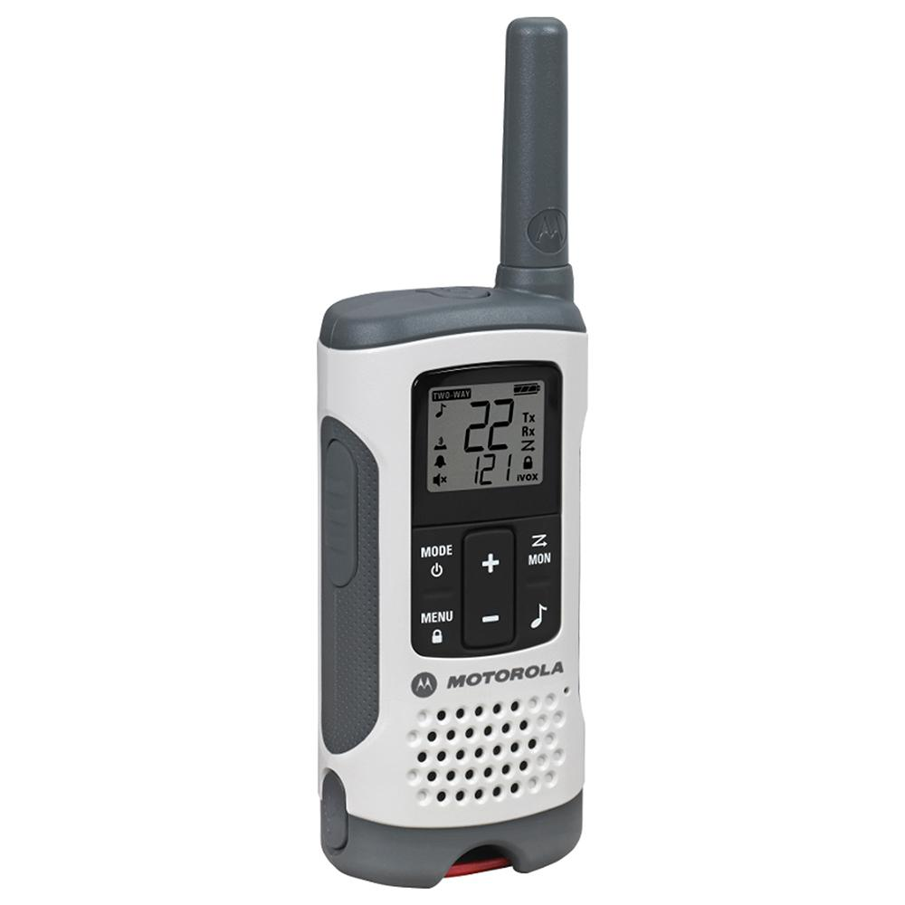 Motorola Talkabout T260TP Rechargeable 2-Way Radio, White (3-Pack)