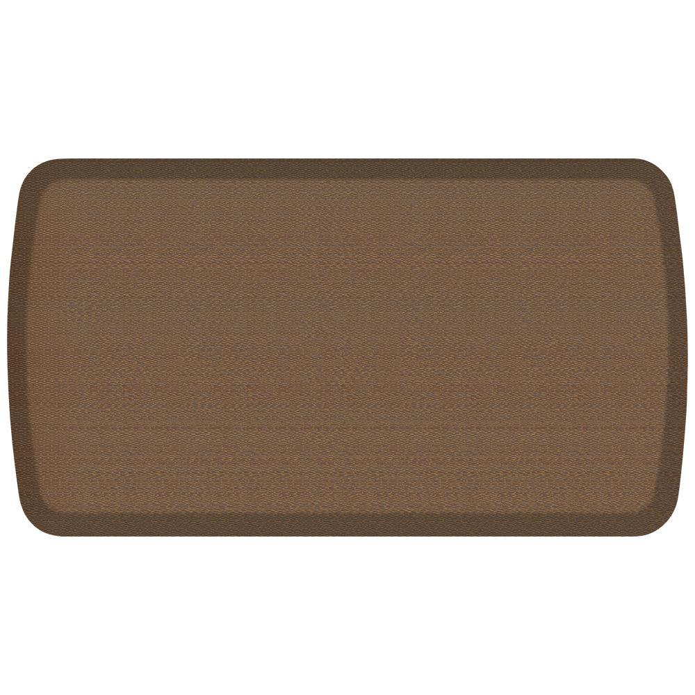 Gelpro Elite Rattan Honey Brown 20 In X 36 In Comfort Kitchen Mat