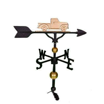32 in. Deluxe Gold Classic Truck Weathervane