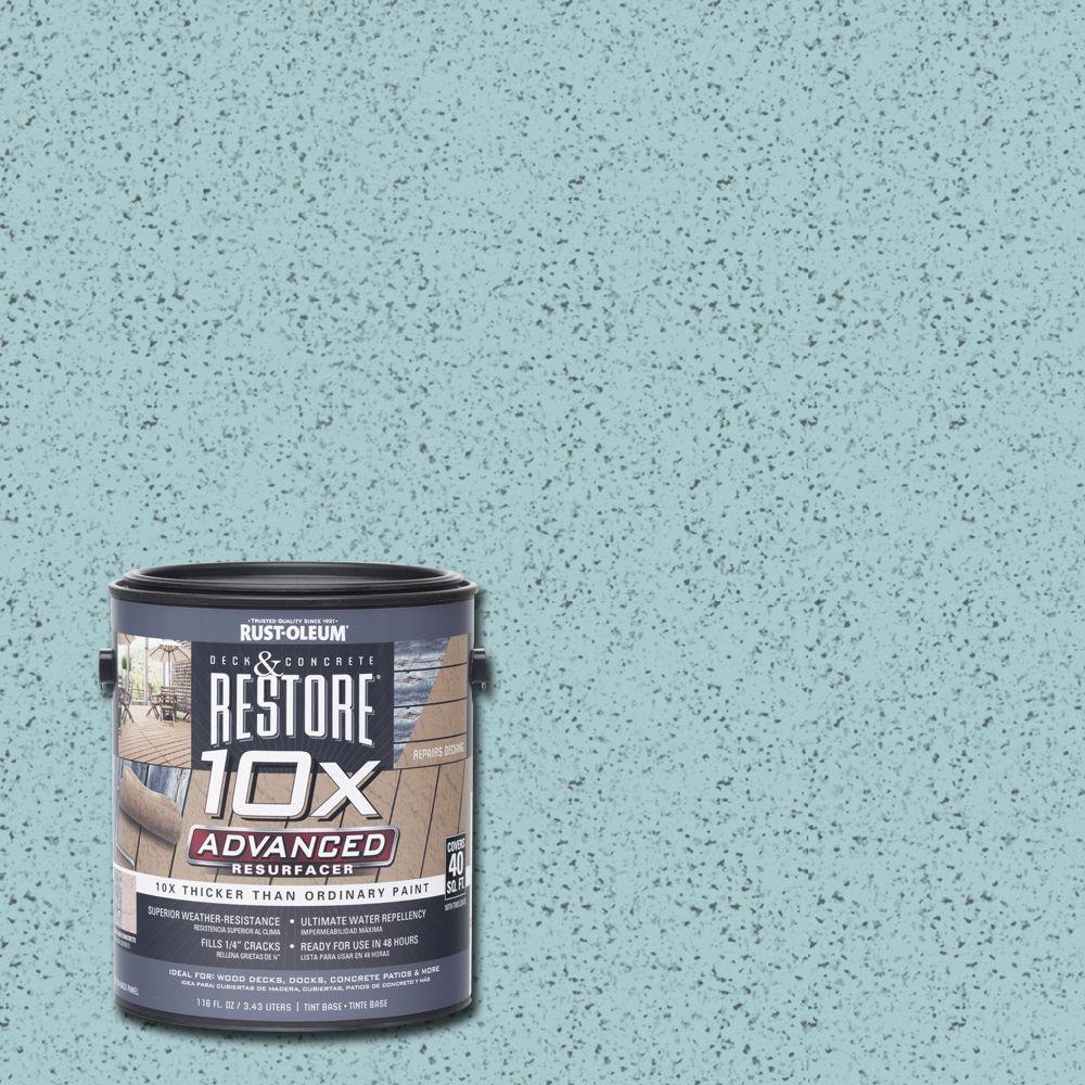 1 gal. 10X Advanced Blue Sky Deck and Concrete Resurfacer