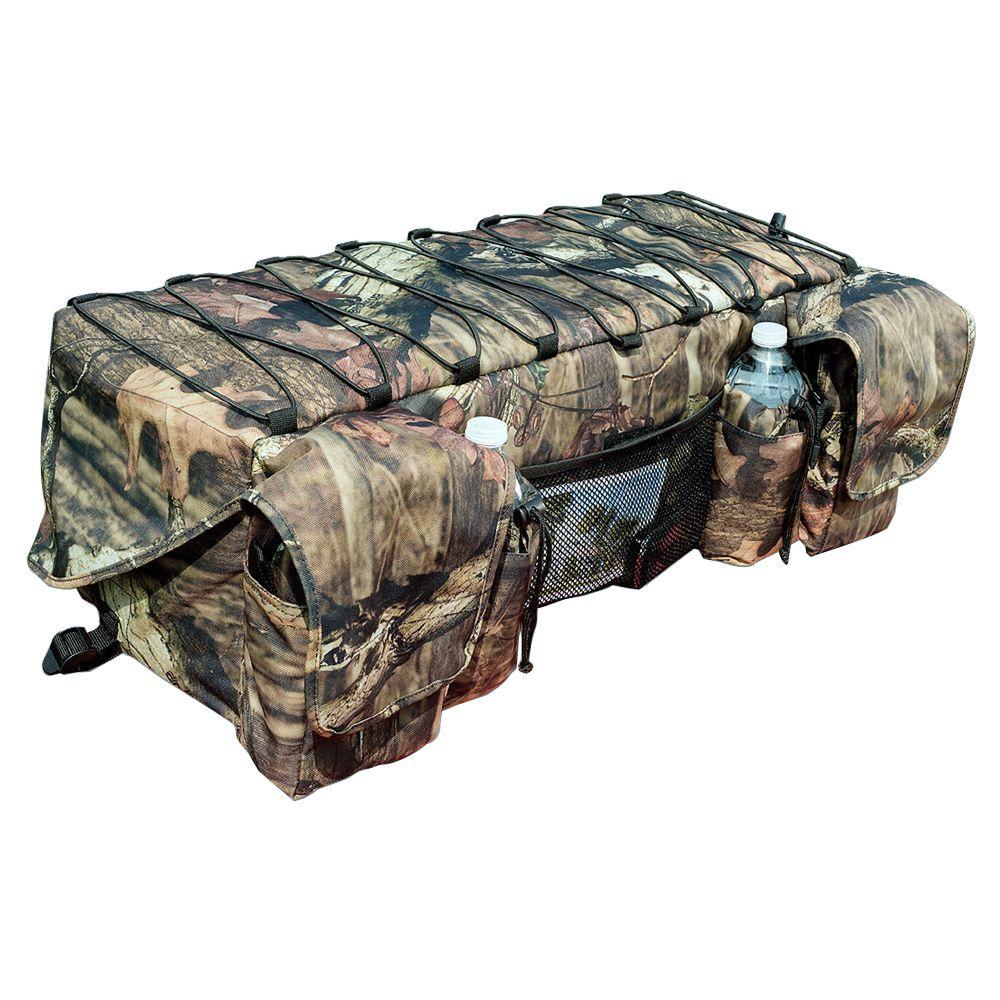 Mossy Oak Infinity Camouflage ATV Rack Bag