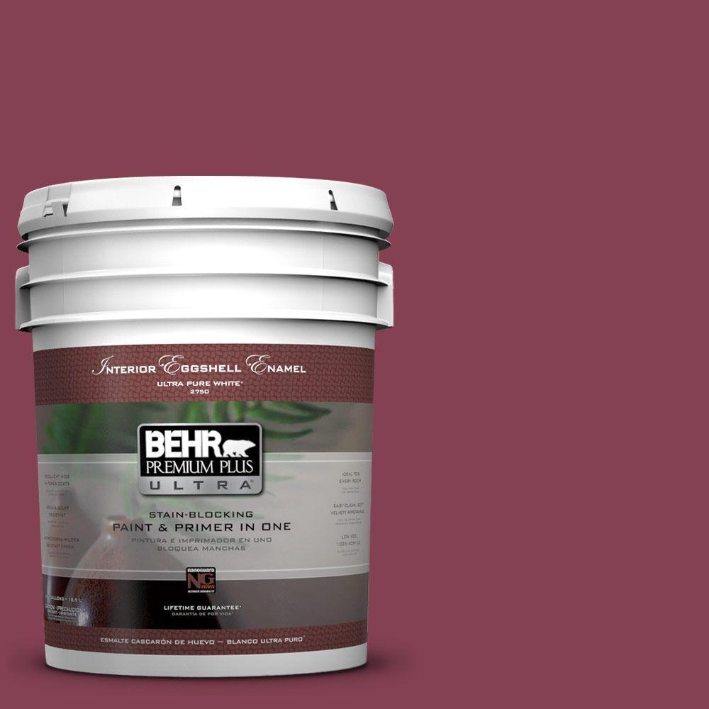 BEHR Premium Plus Ultra 5-gal. #M130-7 Sugar Beet Eggshell Enamel Interior Paint