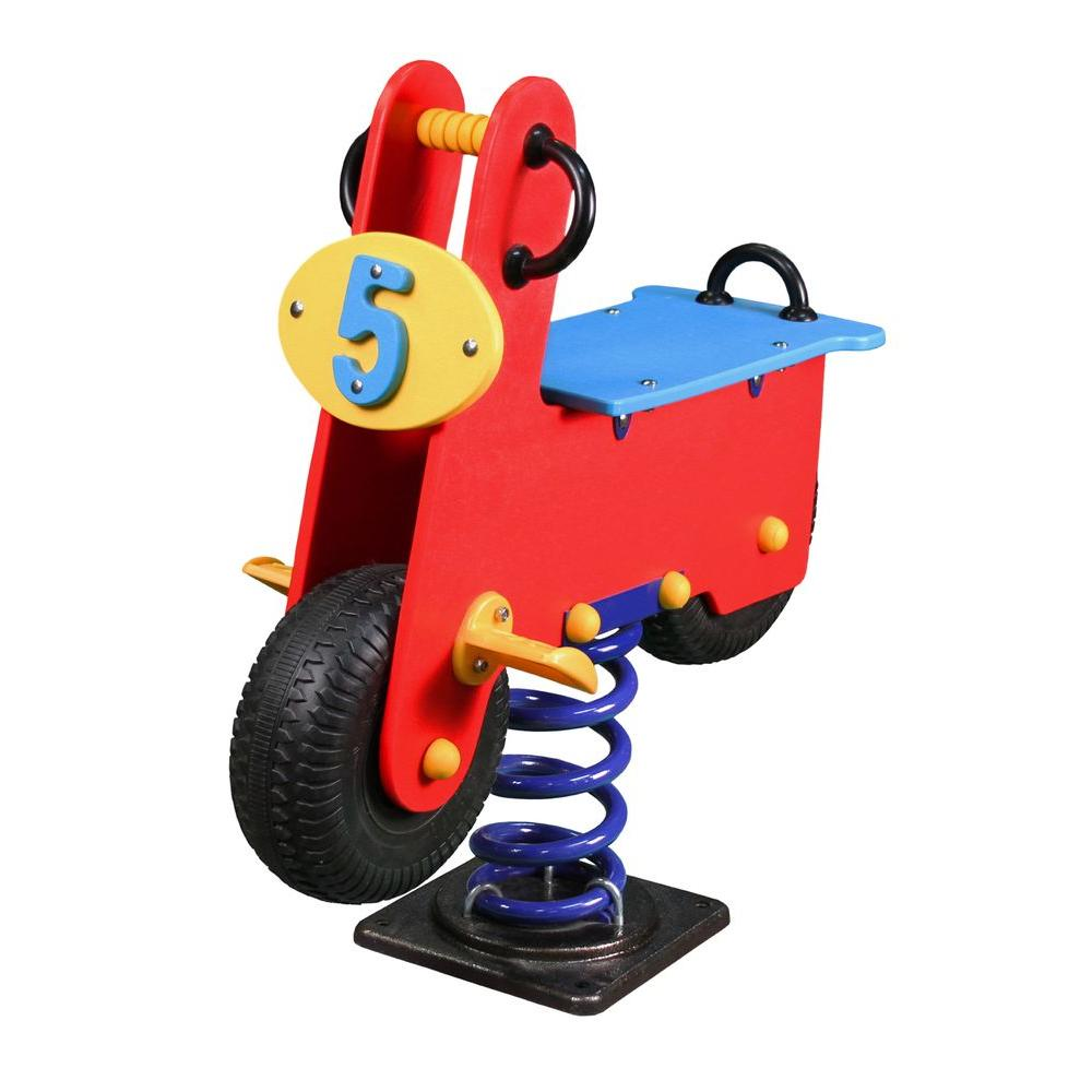 Gorilla Playsets Scooter Spring Rider