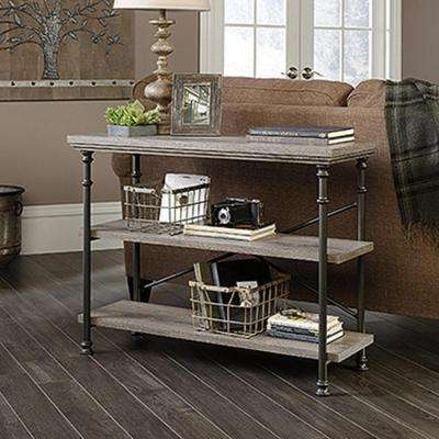 Particle Board Gray Console Table Accent Tables Living Room - Room and board console table