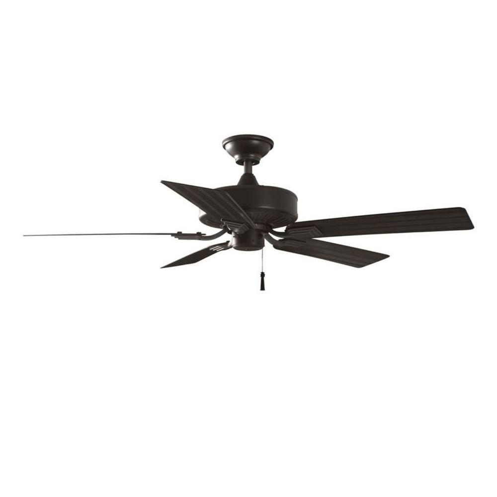 Indoor Outdoor Natural Iron Ceiling Fan